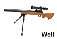 WELL M700 Bolt Action Sniper Rifle with Scope (Imitation wood)