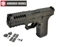 Armorer works VX7110 GBB Pistol with Dummy Sight and base(Black)