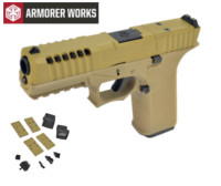 Armorer works VX7111 GBB Pistol with Dummy Sight and base(Tan)
