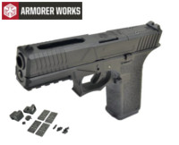 Armorer works VX7310 GBB Pistol with Dummy Sight and base(Black)