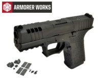 Armorer works VX9110 GBB Pistol with Dummy Sight and base(Black)