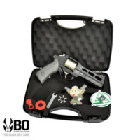 BO Chiappa Rhino 50DS .357 CO2 Revolver(Black, Limited Edition)