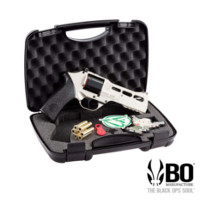 BO Chiappa Rhino 50DS .357 CO2 Revolver(Silver, Limited Edition)