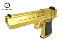 Cybergun MRI Desert Eagle .50 AE Mark XIX GBB Pistol (Gold)