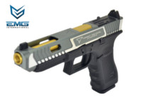 EMG TTI Licensed G34 GBB Pistol (Silver and Black)