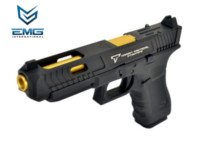 EMG TTI Licensed G34 GBB Pistol (Black and Gold)
