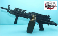 G&P MK46 Mod O AEG Rifle (Black)