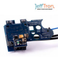 JeffTron Leviathan with Curved Trigger for Ver2 Gearbox (Black)