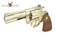 King Arms .357 CUSTOM 4inch Gas Revolver with Marking -SV