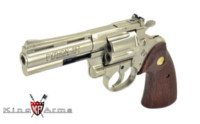 King Arms Colt Python .357 CUSTOM 4inch Gas Revolver (SV)