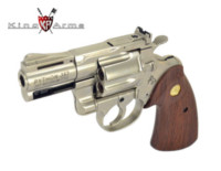 King Arms Colt Python .357 CUSTOM 2.5 inch Gas Revolver (Silver)