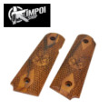 KIMPOI Real Wood Springfield Grip for Marui M1911 compact GBB