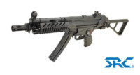 SRC SR5 TAC-AU MP5 CO2 SMG Rifle (Black)