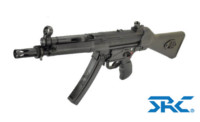 SRC SR5-A2 MP5 CO2 SMG Rifle (Black)