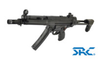 SRC SR5 Original A3 MP5 CO2 SMG Rifle (Black)