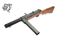 Snow Wolf Metal Bergmann MP-18 AEG SMG (Real Wood)