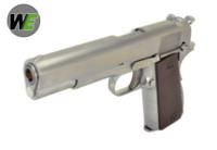 WE Alloy M1911 CO2 Blowback Pistol (Silver)
