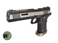 WE HI-CAPA No Marking Slide IREX GBB Pistol (BK & SV ,Full-Auto)