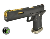 WE HI-CAPA IREX GBB Pistol (Black Frame & Gold Barrel,Full-Auto)