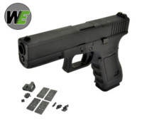 WE G17 GBB Pistol with Dummy Sight and base (Black)