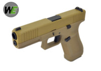WE G17F Gen5 France Style GBB Pistol (Tan)