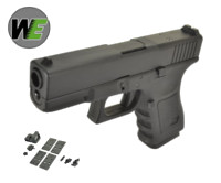 WE G19 GBB Pistol with Dummy Sight and base (Black)