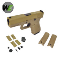 WE G19 Gen4 GBB Pistol with Dummy Sight and base (Tan)