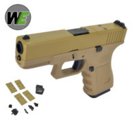 WE G19 GBB Pistol with Dummy Sight and base (Tan)