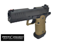 ARMY STI Staccato P R603 GBB Pistol (Dark Earth)