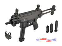 Arrow Arms APC9-K AEG Rifle with T2 Red Dot Sight (Black)