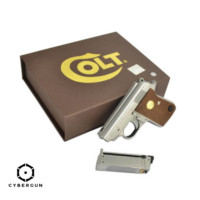 Cybergun Colt Junior .25 Mighty Mouse GBB Pistol (Silver)