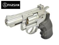 Farsan .357 2.5 Inch 6mm Swing Out CO2 Revolver (Silver)