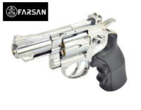 Farsan .357 2.5 Inch 6mm Swing Out CO2 Revolver (bright silver)