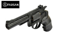 Farsan .357 4 Inch 6mm Swing Out CO2 Revolver (Black)