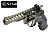 Farsan .357 4 Inch 6mm Swing Out CO2 Revolver (Bronze)