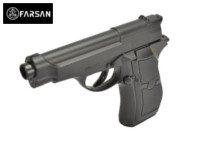 Farsan M84 CO2 NBB Pistol (Black , 6mm)