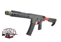 G&P 10 inch MWS Strike Tactical GBB Rifle (Red , Cerakote)