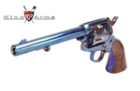 King Arms M Style CUSTOM SAA .45 Gas Revolver (Bluing)