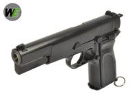 WE Hi-Power Browning MK3 GBB Pistol (Black)