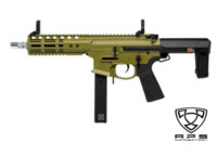 APS Noveske Space Invader 9mm PCC AEG (Green)