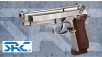 SRC CO-702L SR92 INOX CO2 Pistol