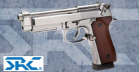 SRC CO-704L SR92 A1 INOX CO2 Pistol