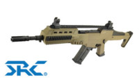 SRC XM8R AEG Carbine / Assault Rifle (Tan)