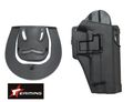 EAIMING P226 RH Pistol Paddle & Belt Holster (BK)