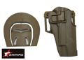 EAIMING 1911 series RH Pistol Paddle & Belt Holster (CB)