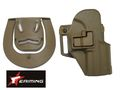 EAIMING USP Compact RH Pistol Paddle & Belt Holster (DE)