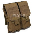 FLYYE MOLLE Double M4/M16 Mag Pouch(Coyote Brown)