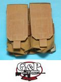 G&P M14 Double Magazine Pouch (Sand)