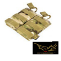 FLYYE Molle EV Universal Double Mag Pouch( Multicam)