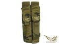 FLYYE Molle Double P90/UMP Magazine Pouch(Multicam)
